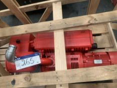 Busch R5 0302 DE Vacuum Pump (understood to be new), 1.3m long x 0.55m wide x 0.8m high, lift out