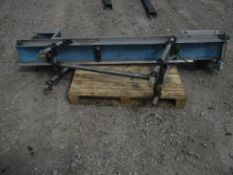Belt Conveyor, approx. 50cm x 260cm x 130cm (understood to be for spares/ repairs), loading free