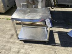 Mobile Stainless Steel Table , serial no. N/A, plant no. N/A, year of manufacture N/A, dimensions