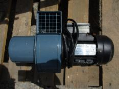 Agri Group CA005-3/4-1A Single Phase Induction Motor, serial no. VF 266491, 2800rpm, 130w, approx.