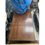 Five Drawer Wooden Office Desk, serial no. N/A, plant no. N/A, year of manufacture N/A, dimensions