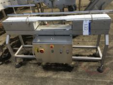 PWL Conveyor, 1300mm wide Intralox type belt , serial no. N/A, plant no. N/A, year of manufacture