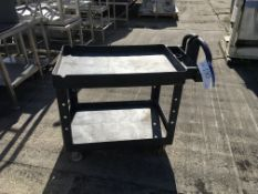 Mobile Plastic Trolley , serial no. N/A, plant no. N/A, year of manufacture N/A, dimensions