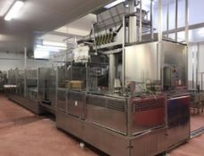 Flexliner Speed/2x2 + Flexodos (Grunwald) Twin Lane Automatic Cup Filling & Sealing Line, 25