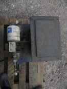 PWB2 Pressure Wave Pump Controller & Ferham Watar Tank, year of manufacture 2011, approx. 42cm x
