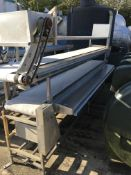 Twin PU Sorting Belt Conveyor , serial no. N/A, plant no. N/A, year of manufacture N/A, dimensions