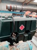 Diesel Fuel Tank, year of manufacture 2011, with d