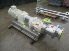 Bornemann SLHS 180-120 Pump, serial no. 112473, year of manufacture 2013, approx. 230cm x 70cm x