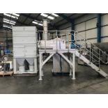 Kemutec KEK/Gardner Stainless Steel U-trough Powder Mixing System, 400 litre capacity, high-