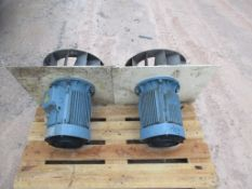 ABB MK142033-BS MBT 132 SB Electric Motor, approx. 55cm x 125cm x 53cm (understood to be used/