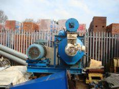 Orbit 225-175 Pellet Press, c/w conditioner, force