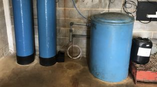 Wave CyberWater Softener System, serial no. N/A, plant no. N/A, year of manufacture N/A,