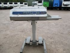 OK SB3 Super Sealer, approx. B1517, approx. 133cm x 100cm x 168cm (understood to be used/ working