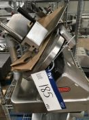 Berkel 800S Table Top Slicer , serial no. N/A, plant no. N/A, year of manufacture N/A, dimensions