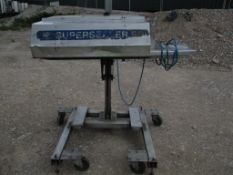 OK Int. Group SB3 RL NB Super Sealer, serial no. B1548, year of manufacture 2006, approx. 172cm x