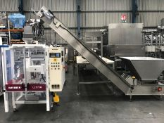 Haysson Bagger with Easyweigh weigher & elevator , serial no. N/A, plant no. N/A, year of