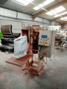 Spiroflow Valve Sack Bagging Machine, weighs bags