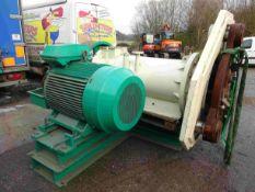 Van Aarsen C750 Pellet Press, with 160kW motor, pl