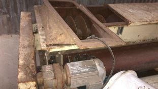 Williams Bin Discharger, approx. 13ft long , serial no. N/A, plant no. N/A, year of manufacture N/A,
