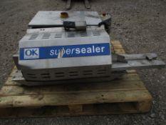 OK Int. Group SB-20-EU OK Super Sealer, serial no. 214-2526-30, approx. 55cm x 120cm x 80cm (
