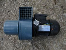 Agri Group CA005-3/4-1A Single Phase Induction Motor, serial no. VF 266459, 2800rpm, 130w, approx.
