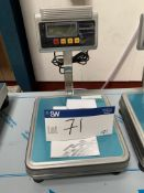 30kg Bench Top Scale , serial no. N/A, plant no. N/A, year of manufacture N/A, dimensions approx. -,