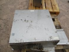 Stainless Steel Panel, approx. 80cm x 8cm x 32cm (understood to be for spares), loading free of