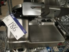 Berkel 800S Table Top Slicer , serial no. N/A, plant no. 14875, year of manufacture N/A,