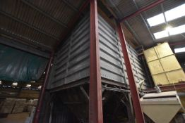 18 (Crittal type) x 18 TONNE CELL (wheat capacity) (three bins x 6 compartment) PROFILED