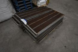 Approx. 18 Wood Frame Screens, each approx. 1.51m x 580mm