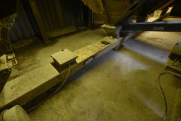 300mm dia. Screw Conveyor, approx. 13.8m long, wit