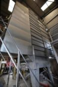 Law Denis GALVANISED STEEL CASED OIL FIRED GRAIN DRYER, understood to have capacity of 18 tonnes/ hr