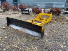 Grain Pushing Attachment, with fittig for JCB