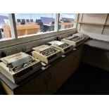 Three Oki Microline 320 Elite Printers, with Oki M