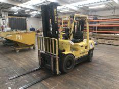 Hyster H3.00XM Diesel Forklift Truck, registration