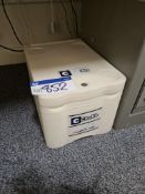 Chubb FC1100 Fire Cooler 1000 Data Protection Safe, weight 33.6kg, approx. 300mm x 420mm x 260mm