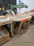 Wadkin Bursgreen TYPE 14 BRA RADIAL ARM CUT-OFF SA