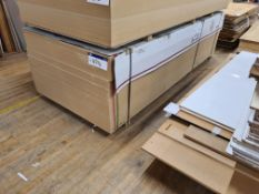 40 Sheets of Fibrabel Ultralight MDF, 3050mm x 1220mm x 18mm thickness, as set out on pallet