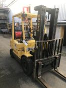 Hyster H2.50XM LPG Forklift Truck, registration no