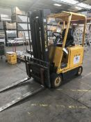 Hyster E50A Electric Forklift Truck, registration