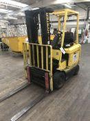 Hyster E2.50XM-700 Electric Forklift Truck, regist