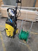 Karcher HD6/16M Pressure Washer, 240V, with hose reel