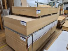 20 Sheets of Fibrabel Ultralight MDF, 3050mm x 1220mm x 18mm thickness, as set out on pallet