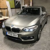 BMW 116d Sport Five Door Hatchback, registration n