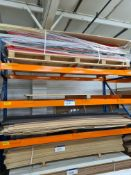 Quantity of Assorted Sheet Materials, including formex, bendy-ply and bendy MDF, as set out on two