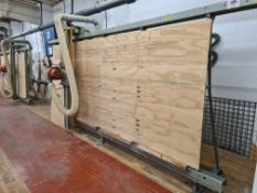 Holz-her 1205 WALL SAW, machine no. 2749, year of