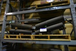 Two V Return Rollers, 127mm dia. x 36ins (84-01-198/ Bay 1) (please note this lot is part of