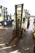Lansing Ltd FOER 15.1 2.0 FF1 1500kg cap. BATTERY ELECTRIC FORK LIFT TRUCK, serial no. 88095248,