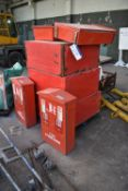 Fire Extinguisher Boxes & Steel Cabinets, as set outPlease read the following important notes:-