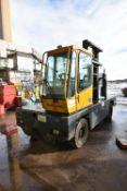 Baumann GX50 12 45 5000kg cap. SIDE LOAD FORK LIFT TRUCK, serial no. 5463, year of manufacture 2001,